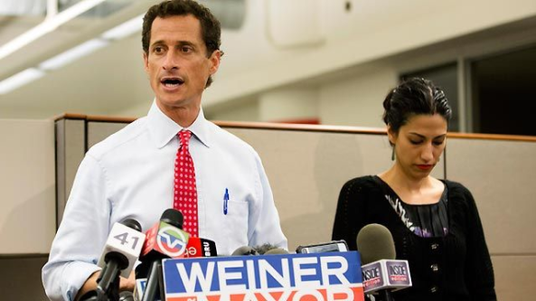 """Weiner simply needs to quit being so hard and go back down and relax.  It just isn't feasible any longer for him to work to prick the bubble of public opinion which has grown stiff against him, thrust himself and his morals failings thru our hard-standing public opinion, regardless of how hard his resolve is. He can stand as erect as he likes against his """"recently-come-to=light"""" actions, but in the end he will simply have to soften-up and quietly return to a relaxed state of non-public home life.  Maybe he should have a cigarette."""